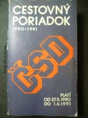 náhled knihy - Cestovný poriadok 1990-1991