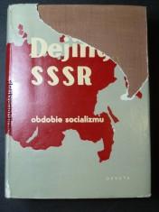 náhled knihy - Dějiny SSSR obdobie socializmu