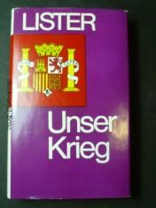 náhled knihy - Unser Krieg