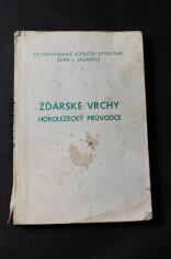 náhled knihy - Žďárské vrchy, horolezecký průvodce