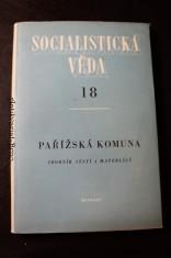 náhled knihy - Pařížská komuna : sborník statí a materiálů, Socialistická věda 18