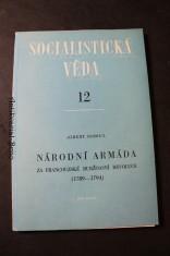 náhled knihy - Národní armáda za francouzské buržoasní revoluce (1789-1794)