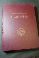 náhled knihy - Politicko-hospodářský atlas světa