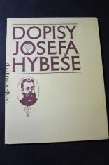 náhled knihy - Dopisy Josefa Hybeše : [1850-1921 : výběr