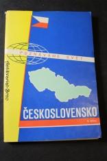 náhled knihy - Československo, soubor map - poznáváme svět