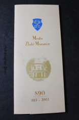 náhled knihy - Mesto Zlaté Moravce 890 (1113-2003)