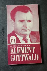 náhled knihy - Klement Gottwald