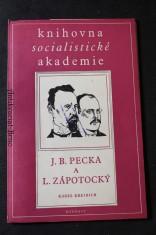 náhled knihy - J. B. Pecka a L. Zápotocký