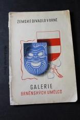 náhled knihy - Galerie brněnských umělců