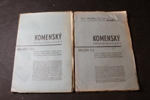 náhled knihy - Komenský, pedagogický časopis, Ročník LXVII., Číslo 4-5, Číslo 6