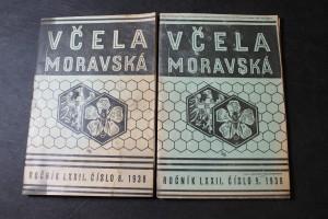 náhled knihy - Včela Moravská, Ročník LXXII. (72), Čísla: 8, 9