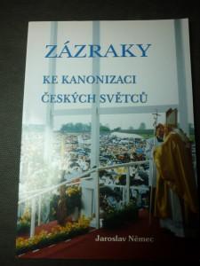 náhled knihy - Zázraky ke kanonizaci českých světců