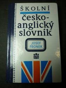 náhled knihy - Školní česko-anglický slovník