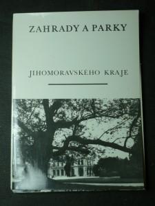 náhled knihy - zahrady a parky jihomoravského kraje