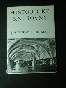 náhled knihy - historické knihovny jihomoravského kraje