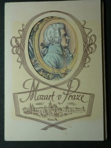 náhled knihy - Mozart v Praze - soubor pohlednic