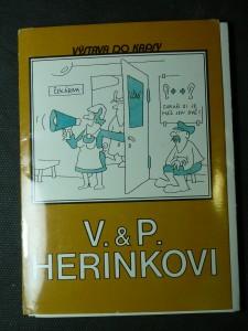 náhled knihy - V. & P. Herinkovi - soubor pohlednic