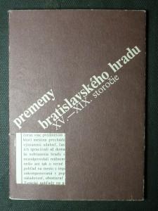 náhled knihy - premeny bratislavského hradu XV.-XIX. storočie - soubor pohlednic