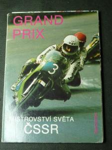 náhled knihy - grand prix mistrovství světa ČSSR - soubor pohlednic