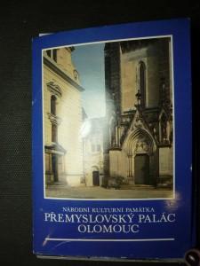 náhled knihy - národní kulturní památka Přemyslovský palác Olomouc - soubor pohlednic