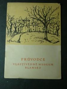 náhled knihy - průvodce vlastivědné museum Blansko