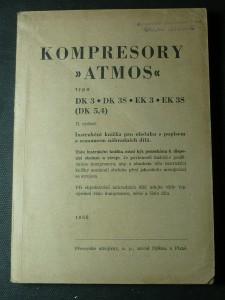 náhled knihy - kompresory ,,Atmos''