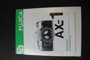 náhled knihy - Fujica Ax-1, návod k obsluze