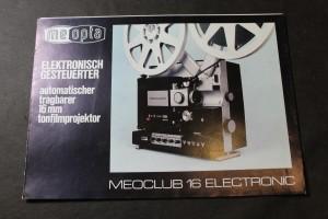 náhled knihy - Elektronisch Gesteuerter automatischer tragbarer 16 mm tonfilmprojektor, Meoclub 16 Electronic