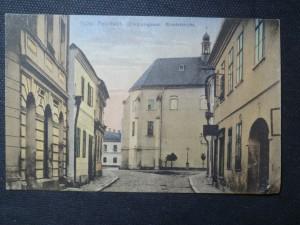 náhled knihy - Mähr. Neustadt. Olmützergasse. Klosterkirche