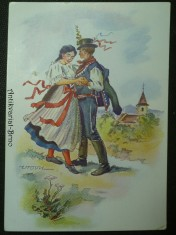 náhled knihy - Frant. Vrobel, Slezský kroj z Těšínska