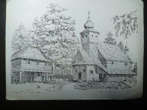 náhled knihy - Miloš Kulišťák: Valašský kostel