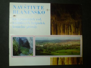 náhled knihy - Navštivte Blanensko, kraj ponorných vod, křišťálových krápníků, kouzelné přírody
