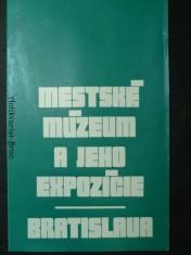 náhled knihy - Městské múzeum a jeho expozície. Bratislava