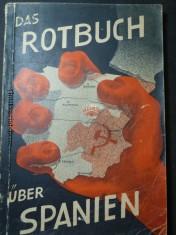 náhled knihy - Das Rotbuch über Spanien - Bilder, Dokumente, Zeugenaussagen