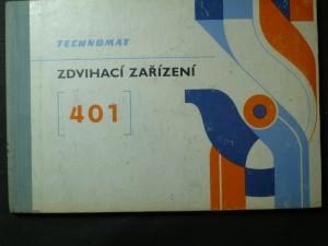 náhled knihy - Zdvihovací zařízení. Technomat - 401