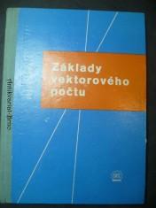 náhled knihy - Základy vektorového počtu