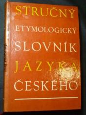 náhled knihy - Stručný etymologický slovník jazyka českého
