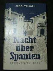 náhled knihy - Nacht über Spanien. Reisenotizen 1956.