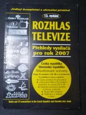 náhled knihy - 13. vydání -  Rozhlas, televize (přehledy vysílačů pro rok 2007)