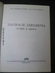 náhled knihy - Zdvíhacie zariadenia revízie a opravy
