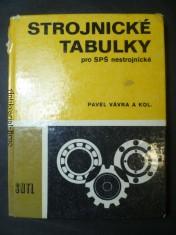 náhled knihy - Strojnické tabulky pro SPŠ nestrojnické