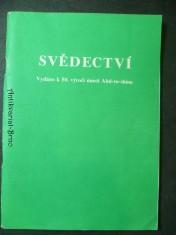 náhled knihy - Svědectví - výdáno k 50. výročí úmrtí Abd-ru-shina