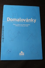 náhled knihy - Domalovánky, Úkoly a zábava pro chytré hlavičky a šikovné ručičky od ČSOB