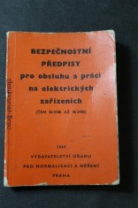 náhled knihy - Bezpečnostní předpisy pro obsluhu a práci na elektrických zařízeních : Poučení pro pracujích