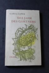 náhled knihy - Zahradníkův rok. Německy Das Jahr des Gärtners