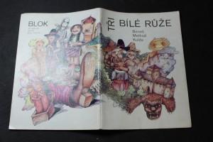 náhled knihy - Tři bílé růže : pohádky