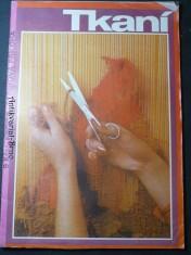 náhled knihy - Mona - Tkaní - střihová příloha