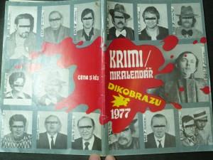 náhled knihy - Krimikalendář Dikobrazu