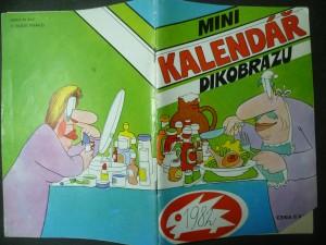 náhled knihy - Minikalendář Dikobrazu