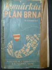 náhled knihy - Komůrkův plán Brna se seznamem ulic